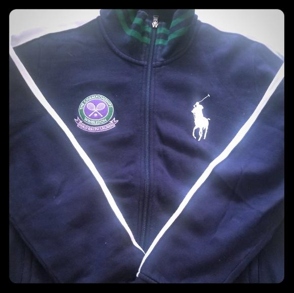 Ralph Lauren Polo Wimbledon Track Jacket NwyOm80nvP